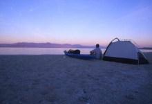 Kayaking the Salton Sea