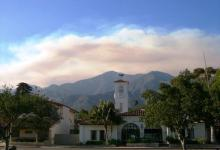 Zaca Fire Information Meeting for Montecito
