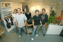 J7 Surfboards Goes Downtown