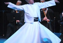 The Whirling Dervishes of Turkey.