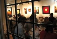Dinner in the Gallery at Gallery Ocho