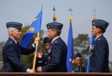 Vandenberg Receives New Commander