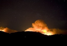 Basin Fire Expands Dramatically