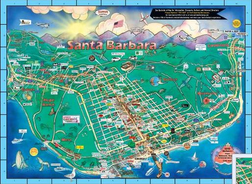 The Map Hits 25 - The Santa Barbara Independent Santa Barbara State Street Map on wichita state street map, oregon state street map, ohio state street map, sb street map, washington state street map, new york state street map, chicago state street map, boston state street map, madison state street map, california county map,