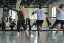 Jennifer Muller Sets Work on UCSB Dancers