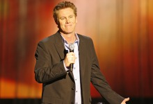 Brian Regan at the Arlington