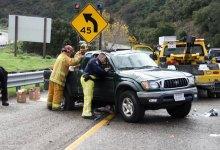Vehicle Rollover in Gaviota