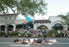 BMXers Flip and Fly Over State Street