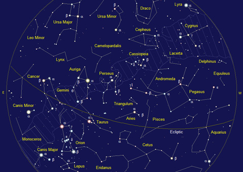 Map Of Constellations Northern Hemisphere Summer Stargazing the Summer Sky   The Santa Barbara Independent