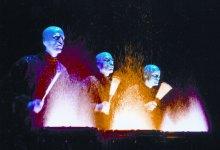 Blue Man Group Rocks the Granada