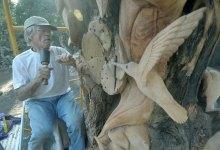 Montecito's Massive Tree Sculpture