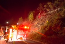 TV Hill Fire Knocked Down Quickly