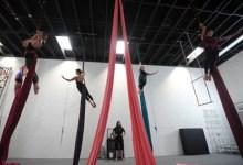 Behind the Scenes of Aerial Dance