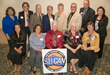 SB CAN Recognized Outstanding Contributions to the Community