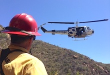 Helicopter Rescue at Seven Falls