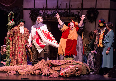 Christmas Revels.Review The Christmas Revels At The Lobero Theatre The