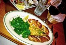 Grilled Shrimp and Sausage @ Paradise Café