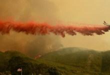 Vegetation Fire Burning Near Lompoc