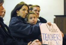 Teacher Tenure Struck Down