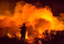 Tank Fire Rips Through University Reserve