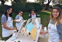 Art on Wheels Paints Santa Barbara Wine Country