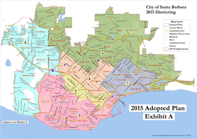 District Election Map Finalized - The Santa Barbara Independent on site map, local map, chapter map, street map, field map, class map, township map, metropolitan map, facility map, county map, parent map, school map, precinct map, deep loot map,