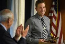 Brandon Sportel Named Teacher of the Year