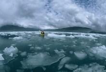 Braving Icy Bay in Southeast Alaska