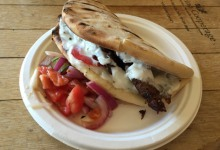 Gyro and Peasant Greek Salad @ Metropulos Fine Foods Merchant