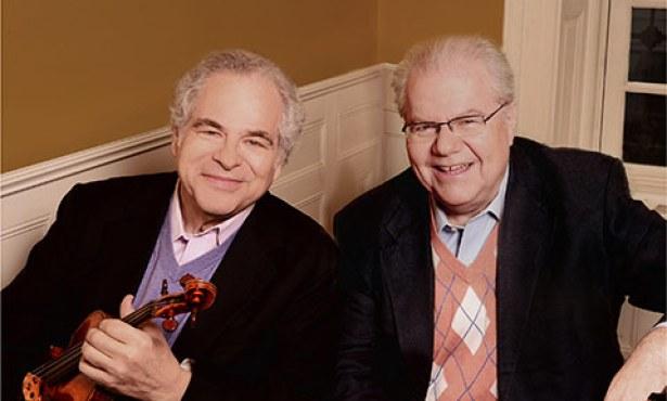 Itzhak Perlman and Emanuel Ax