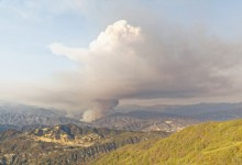 Rey Fire Jumps Mono Containment Lines Thursday