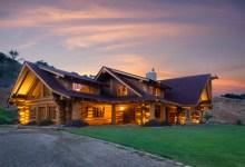 Make Myself at Home: Log Cabin Mansion Estate on Highway 101