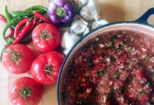 How to Make End-of-Summer Salsa