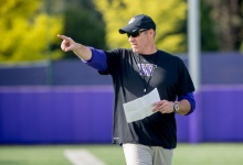 Pete Kwiatkowski Defends Huskies Against Crimson Tide
