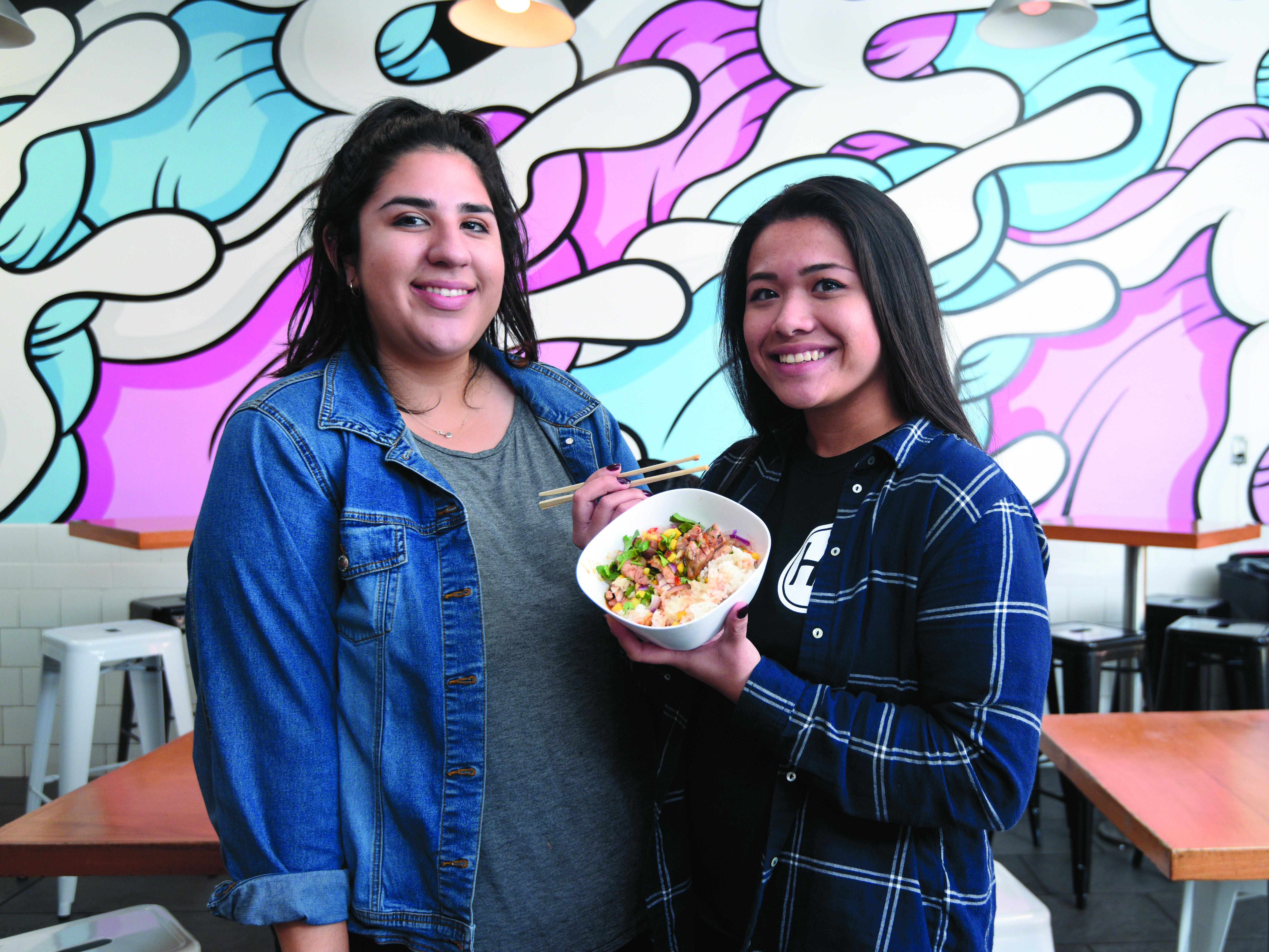 Hana Kitchen S Ample Food At Low Prices The Santa Barbara
