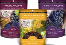 Snacking on RayZyn Dried Wine Grapes
