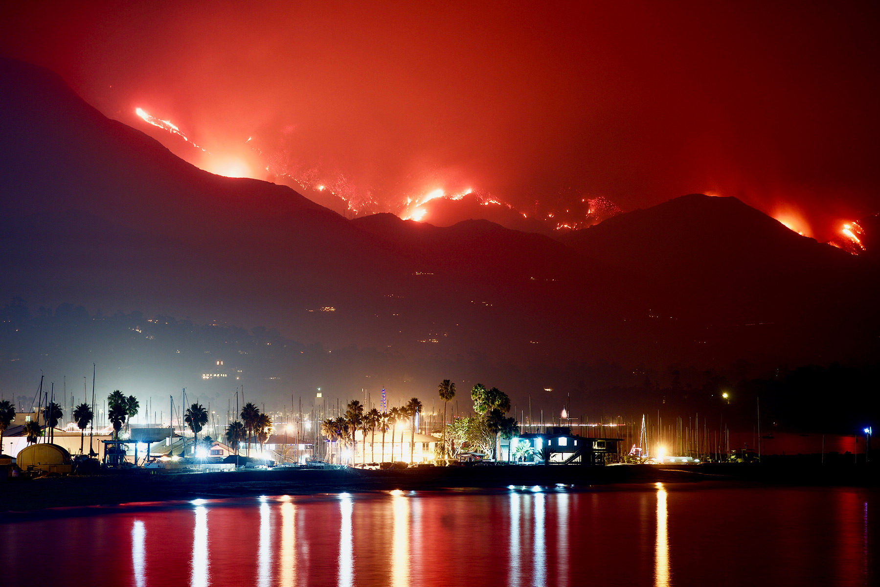Closing Schools And Moving Finals Due To Thomas Fire The Santa Barbara Independent