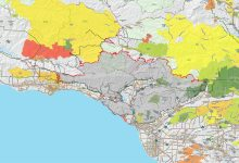 Maps Bring Perspective to the Thomas Fire's Run on Montecito