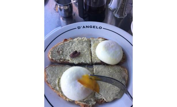 Eggs 'Rose' @ D'Angelo Bread