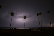 Santa Barbara Experiences a Rainy March, but a Dry Year