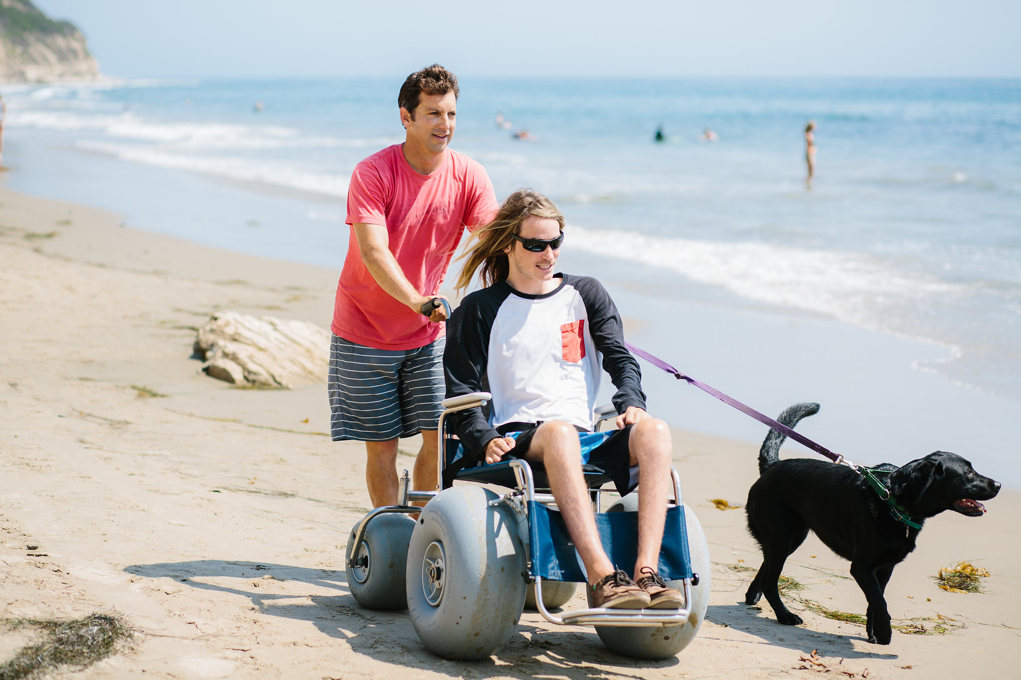 County Now Offering Sand Friendly Wheelchairs For Beach
