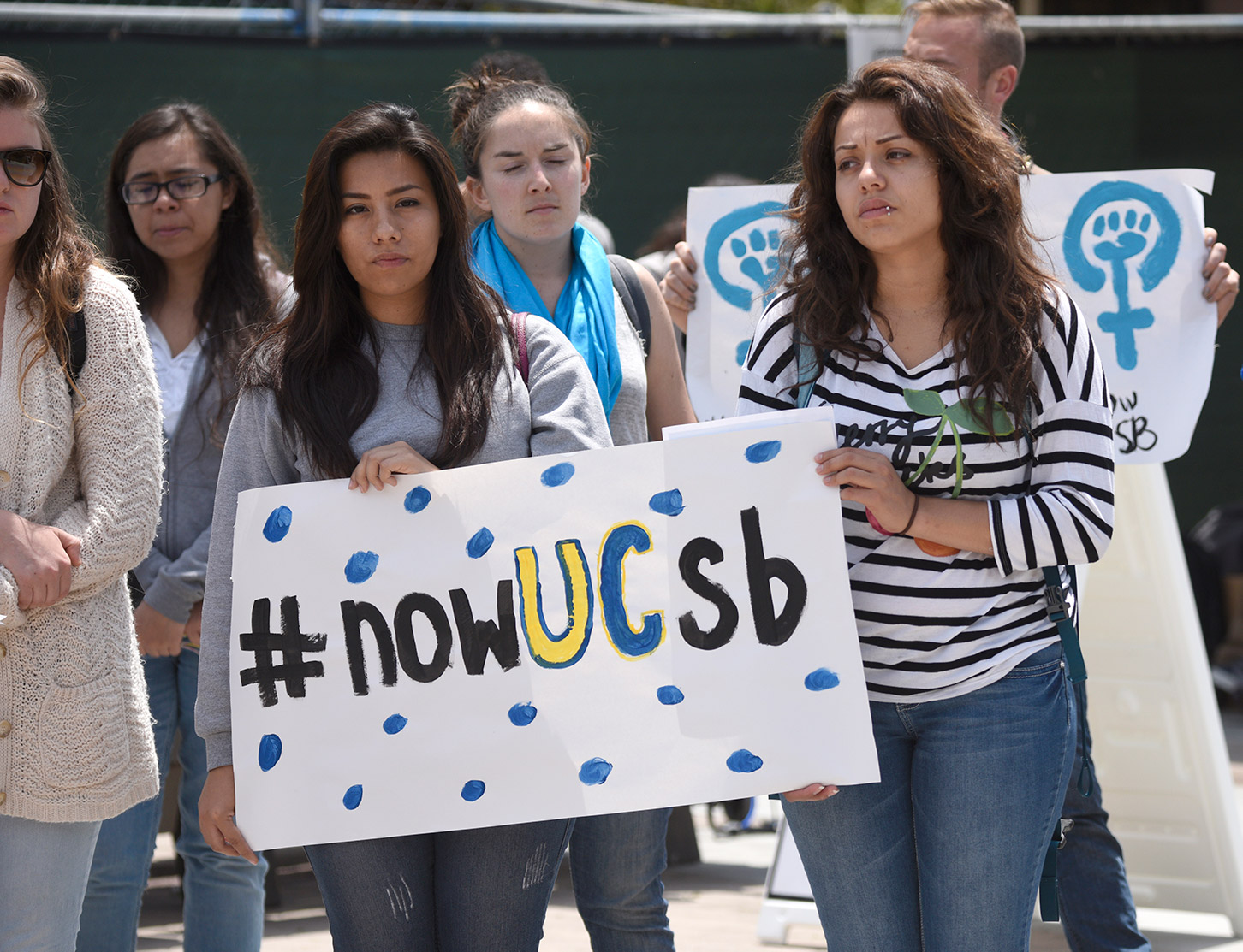 Students Gathered In 2015 To Prompt Changes UC Policy On Sexual Assault Paul Wellman File
