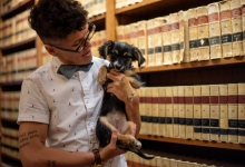 Displaced Riverbed Puppy Finds New Forever Home