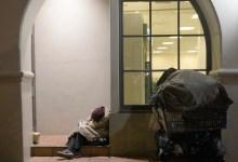 Winter Demand for Homeless Shelter Triples