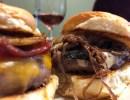 Pairing Tom's Burgers with Kings Carey Wine