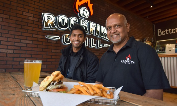 Rockfire Grill's New-Age Burgers