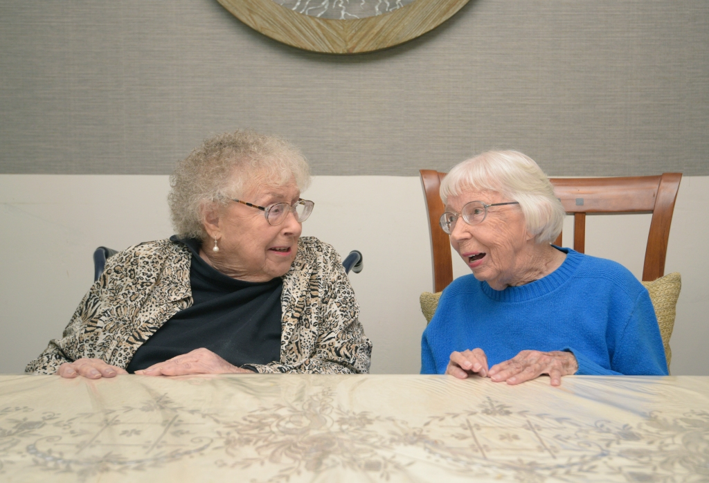 Friends Celebrate Turning 102 Years Old