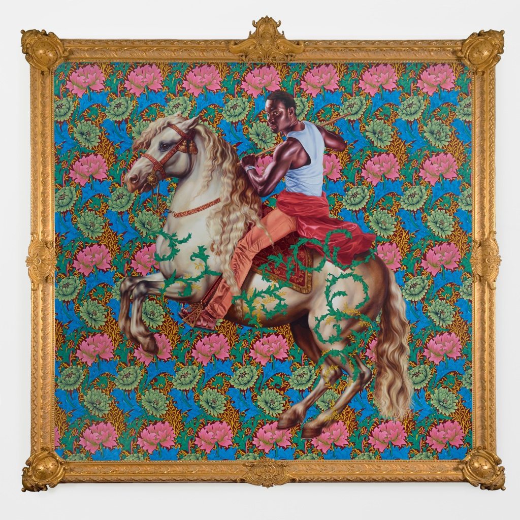 Kehinde Wiley Installation