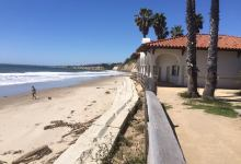 Bacara Attempts to Save Beach House from the Sea