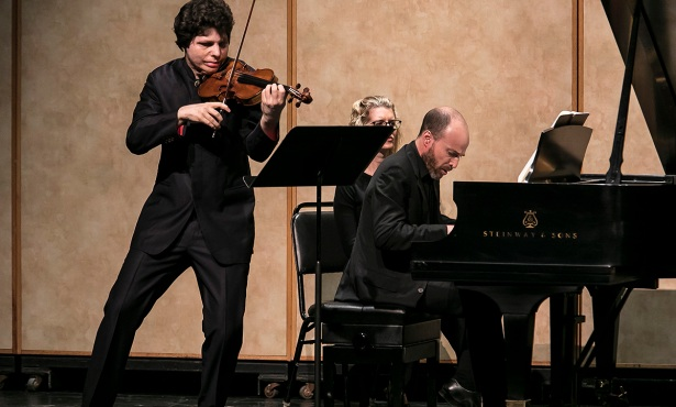 Augustin Hadelich and Orion Weiss in Recital